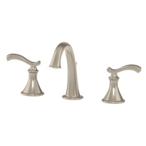 Sophia Bathroom Faucet Double Handle with Drain Assembly