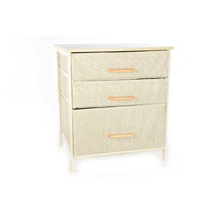 Bissonnette 3 Drawer Chest By Brambly Cottage