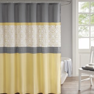 Osterman Embroidered Single Shower Curtain