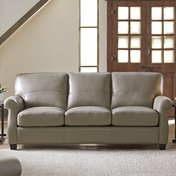 Lazzaro Leather Carlisle Leather Sofa U0026 Reviews | Wayfair