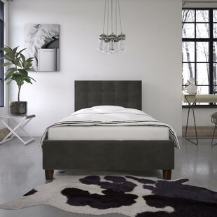 Houchins Upholstered Platform Bed by Winston Porter