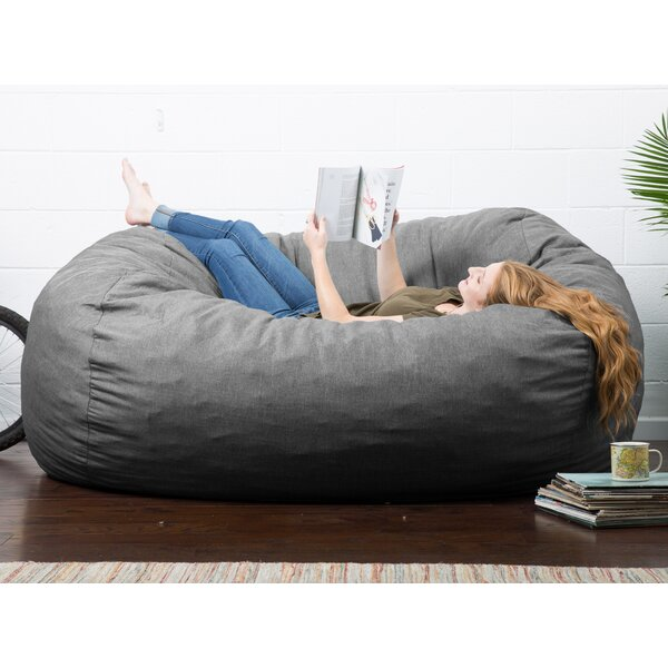 Big Joe Lux Extra Large Bean Bag Sofa