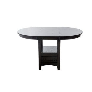 Degraffenreid Counter Height Solid Wood Dining Table by Red Barrel Studio 2019 Coupon
