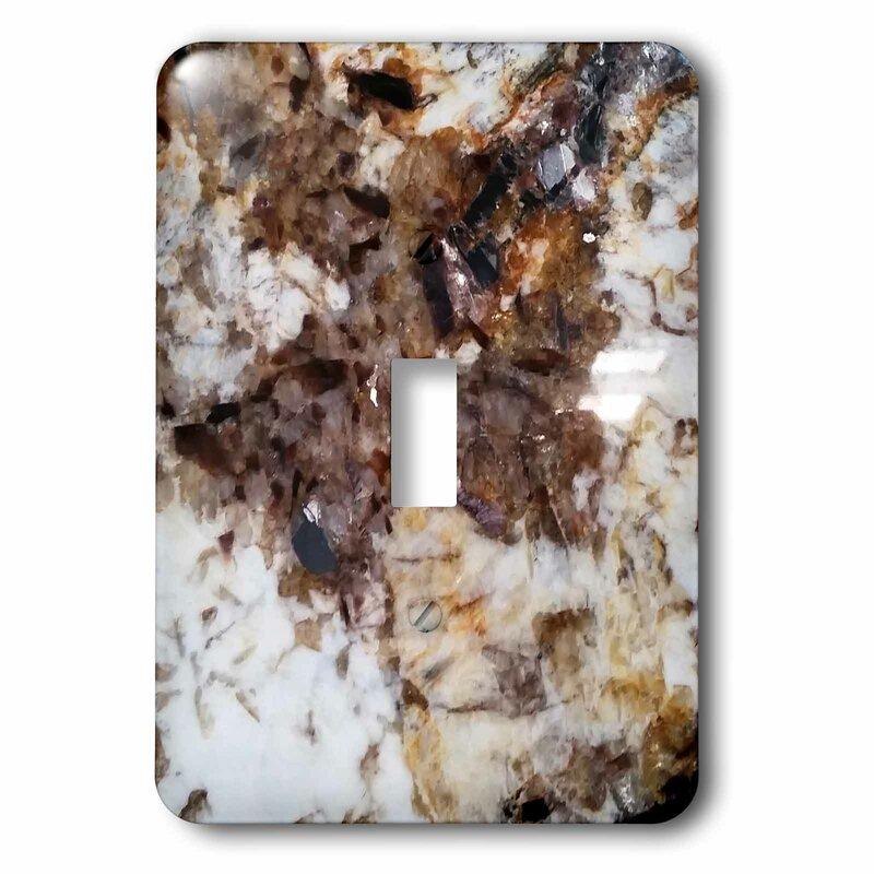 3drose Granite 1 Gang Toggle Light Switch Wall Plate Wayfair