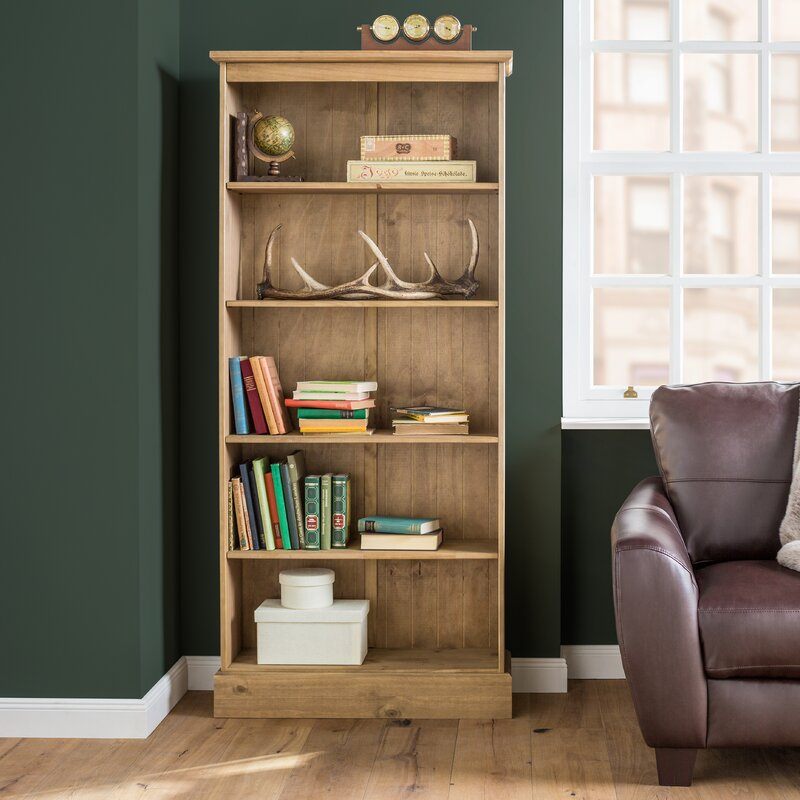 Alpen Home Vidette Tall Wide Bookcase & Reviews | Wayfair ...