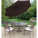 Mcgrady Dining Set with Umbrella
