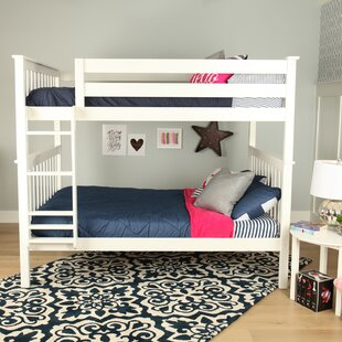 Bolles Solid Wood Bunk Bed by Harriet Bee