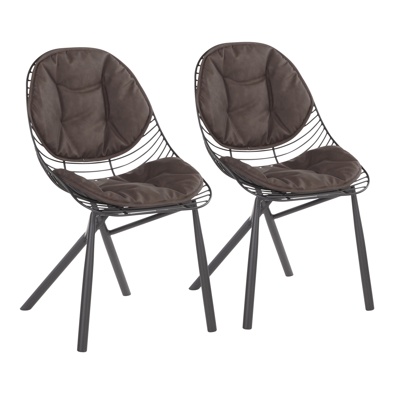Brayden Studio Beaudette Upholstered Dining Chair Reviews Wayfair