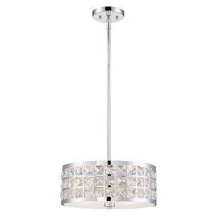 Ritter 2-Light Crystal Chandelier