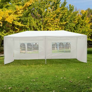 Kinslow 6m X 3m Steel Party Tent By Sol 72 Outdoor