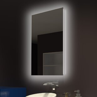 Everly Quinn Moumoune Backlit Bathroom/Vanity Mirror