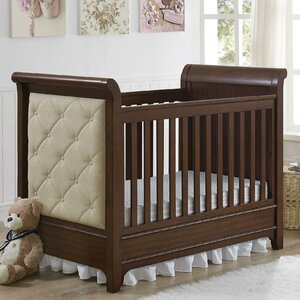 Dottie 3-in-1 Upholstered Convertible Crib