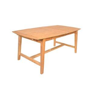 Kaj Extendable  Teak Dining Table By Sol 72 Outdoor