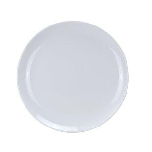 Sevenoaks Coupe Pattern Round Melamine Platter (Set of 12)