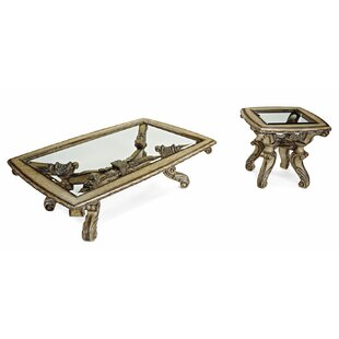 Compare & Buy Vivacci 2 Piece Coffee Table Set By Benetti's Italia