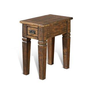 Gracie Oaks Calina Wood End Table
