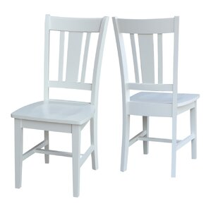 Doug Solid Wood Dining Chair by Beachcrest Home