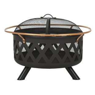 Bryce Cast Iron Wood Burning Fire Pit