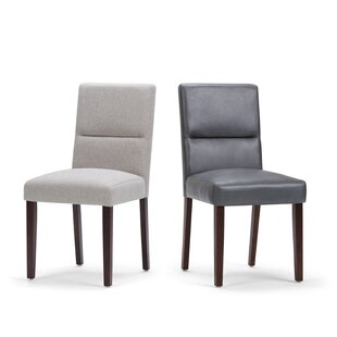 Oaklynn Upholstered Dining Chair (Set of 2) Brayden Studio