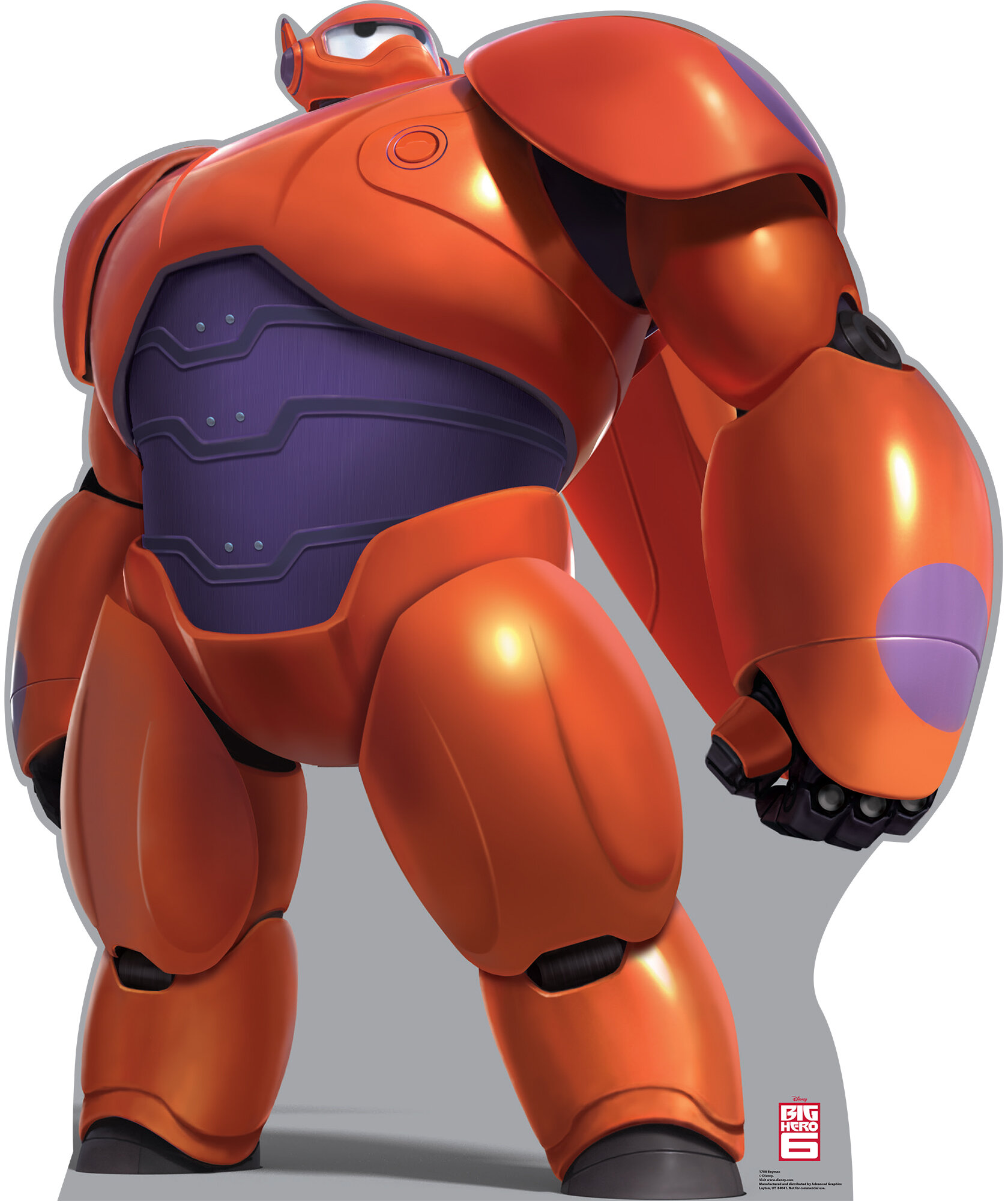 Advanced Graphics Disney S Big Hero 6 Baymax Cardboard Standup Wayfair