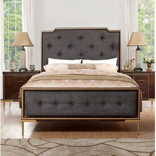 Laufer Upholstered Panel Bed by Everly Quinn