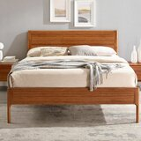 Wynward Solid Wood Low Profile Platform Bed by Corrigan Studio®