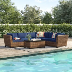 Waterbury 7 Piece Sectional Seating Group with Cushions