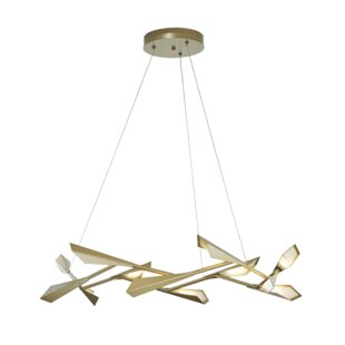 Hubbardton Forge Quill 10-Light LED Novelty Chandelier