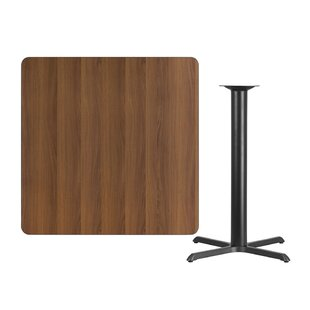 Winston Porter Mazzeo Square Laminate Pub Table