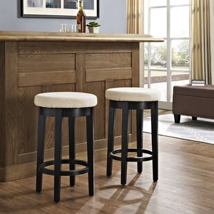 Hiltner 26.25 Swivel Bar Stool (Set of 2) by Winston Porter