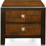 Rountree 2 - Drawer Nightstand in Walnut by World Menagerie