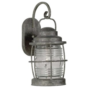 Wildon Home ® Beacon 1-Light Outdoor Wall Lantern
