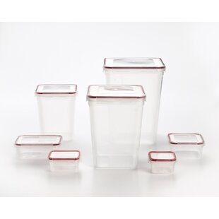 Sheatown Lock and Seal 7 Container Food Storage Set