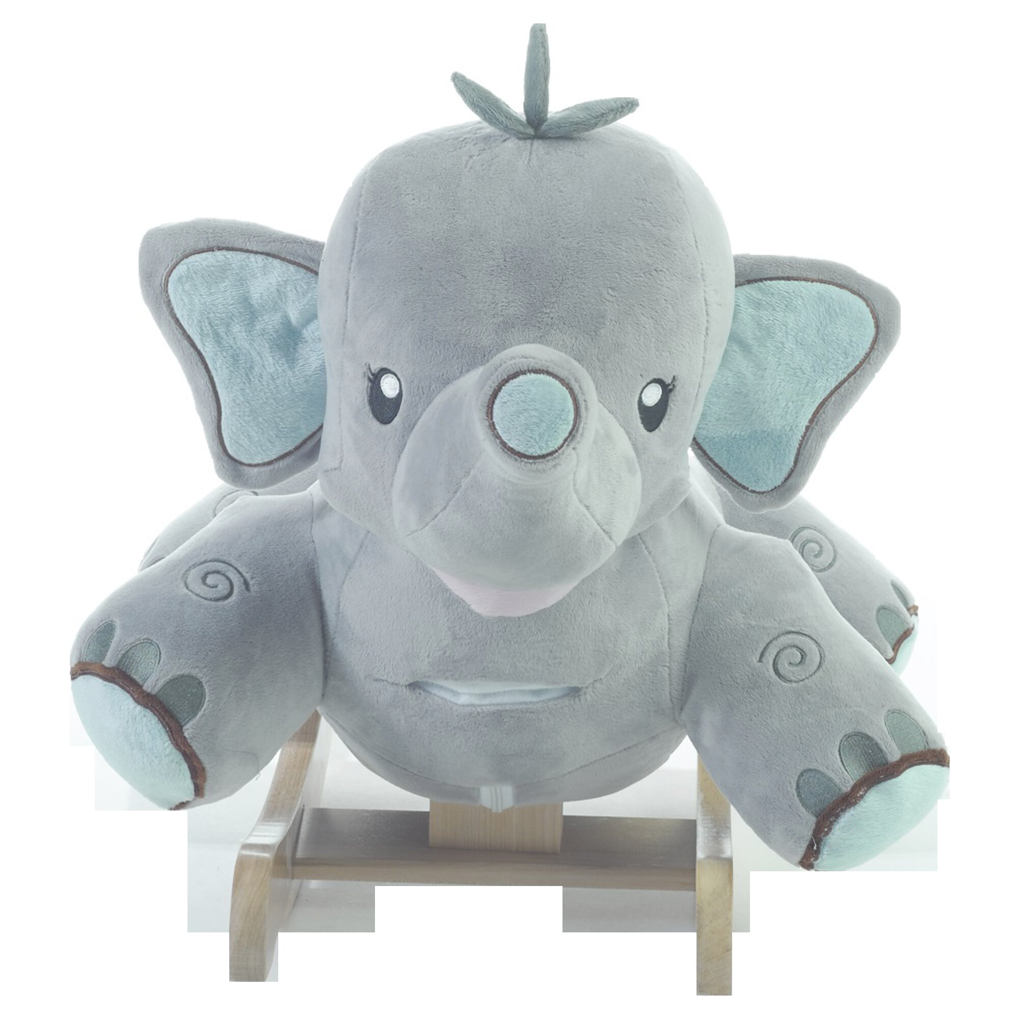 Rockabye Stomp The Elephant Rocker Amp Reviews Wayfair