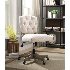 rustic industrial desk chair | wayfair