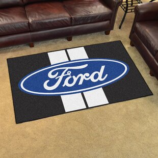 Ford - Ford Oval with Stripes Tailgater Mat FANMATS