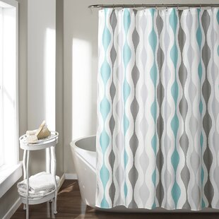 Inexpensive Tariq Shower Curtain ByGeorge Oliver