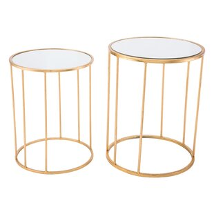 Castlethorpe 2 Piece Nesting Tables by Mercer41