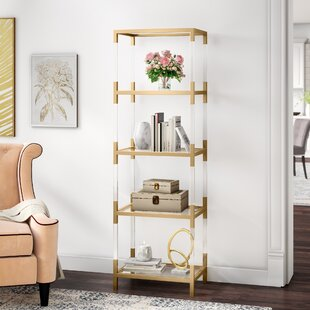 Northampt Etagere Bookcase by Everly Quinn
