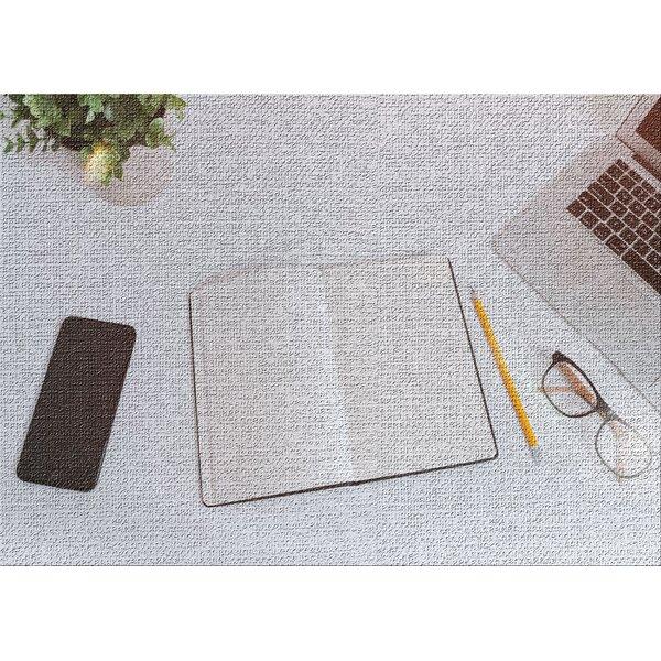 East Urban Home Writing Essentials Gray Area Rug Wayfair