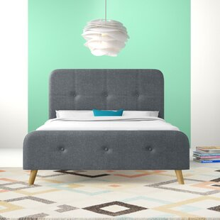 Viaan Upholstered Bed Frame By Hashtag Home