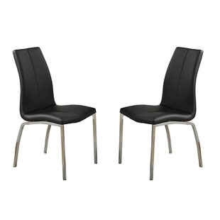 Poundex Bobkona Koren Parsons Chair (Set of 2)