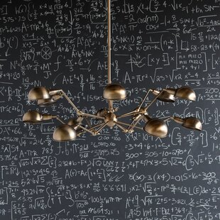 Williston Forge Harter 12-Light Sputnik Chandelier