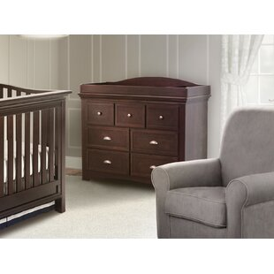 Slumber Time Augusta Molasses 7 Drawer Double Dresser by Simmons Kids