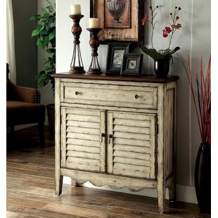 Kayla 1 Drawer 2 Door Accent Cabinet by August Grove