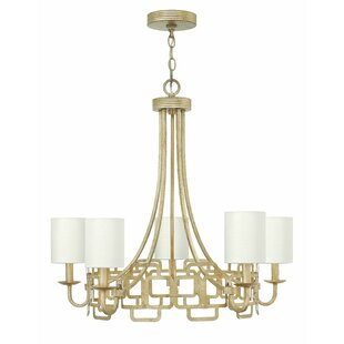 Mercer41 Jamaica Avenue 5-Light Shaded Chandelier