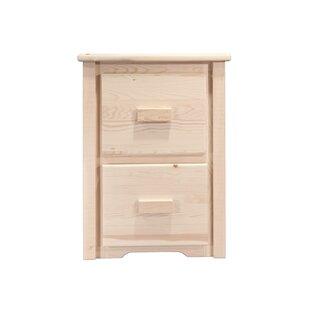 Mistana Katlyn File Cabinet 2 Drawer