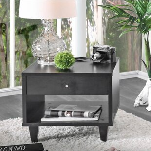 Durkee End Table with Storage