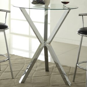 Oaklyn Pub Table in Chrome