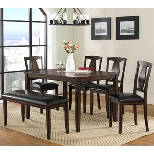 Sedona 6 Piece Dining Set Vilo Home Inc.